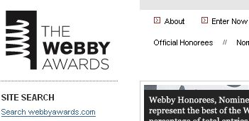 Web界のオスカー The Webby Awards
